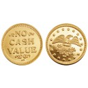 Brass tokens